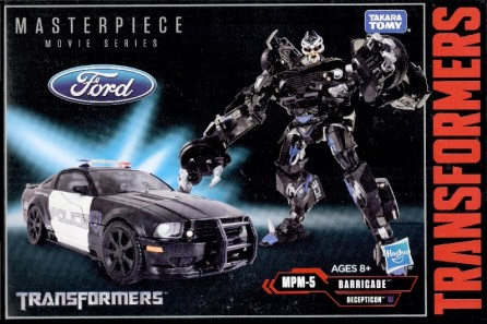Takaratomy Transformers Masterpiece Movie Series MPM-5 Barricade