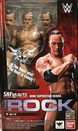Bandai S.H.Figuarts WWE The Rock