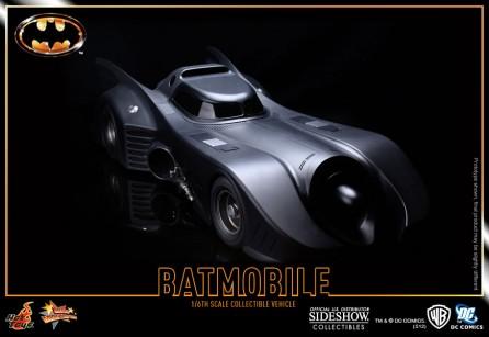 Hot Toys - MMS 170 - Batman: 1/6th scale Batmobile Collectible Vehicle 1989