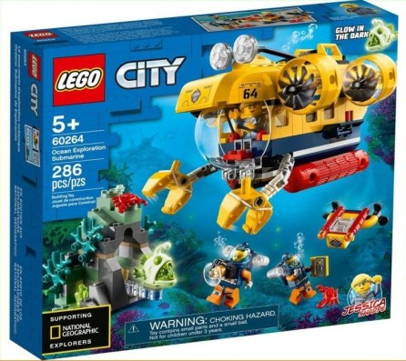 LEGO City 60264: Ocean Exploration Submarine
