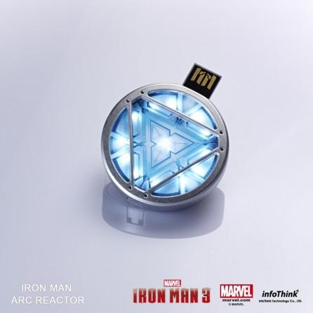 Iron Man 3 Official USB Flashdrive Arc Reactor