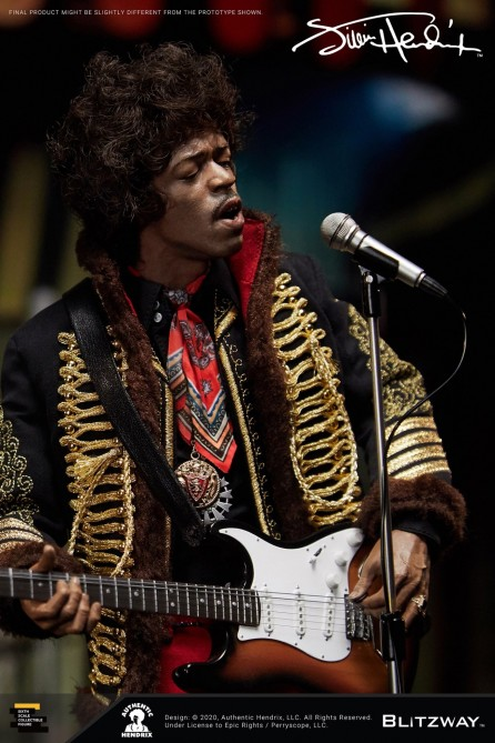 Blitzway 1/6th Scale BW-UMS 11201 Jimi Hendrix Figure