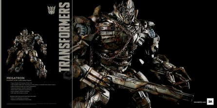ThreeA Transformers Megatron Premium Scale Collectible Figure