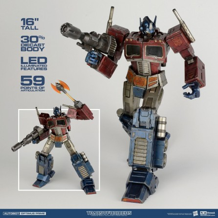 ThreeA Transformers G1 Optimus Prime Premium Scale Collectible Figure