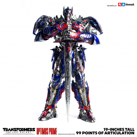 ThreeA Transformers The Last Knight: Optimus Prime Premium Scale Collectible Figure