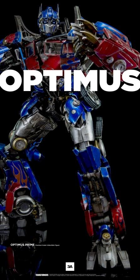 ThreeA Transformers Optimus Prime Premium Scale Collectible Figure