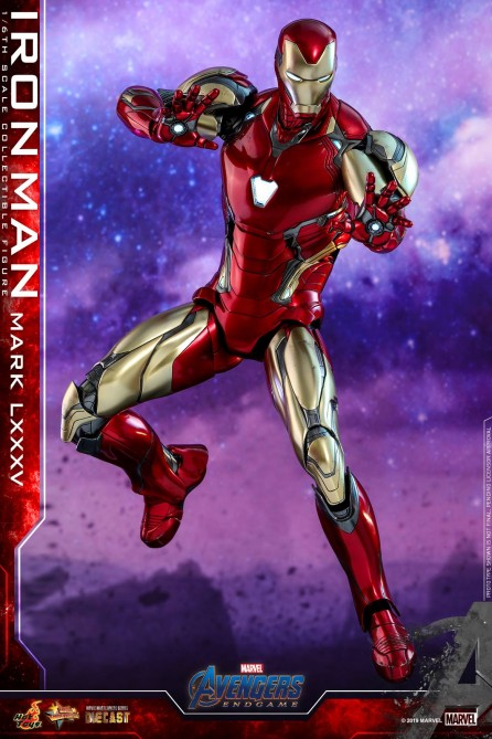 Hot Toys 1/6th Scale MMS528D30 Avengers: Endgame Iron Man Mark LXXXV Diecast Figure