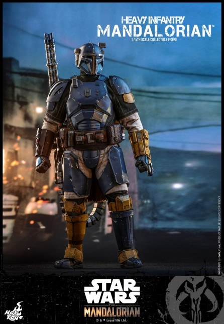 Hot Toys 1/6th Scale TMS010 The Mandalorian: Heavy Infantry Mandalorian