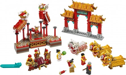 Lego Chinese New Year 80104 Lion Dance