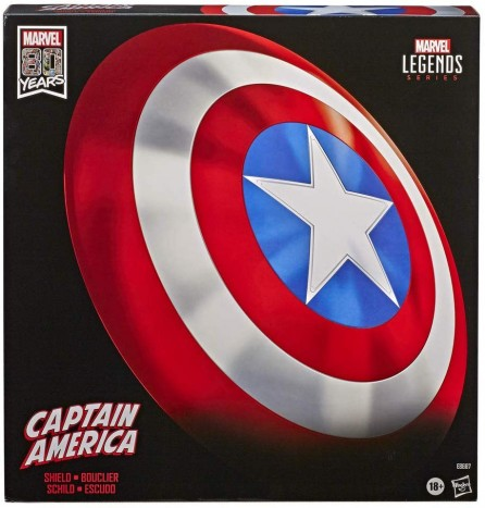 Hasbro Marvel Legends 80th Anniversary Captain America Shield