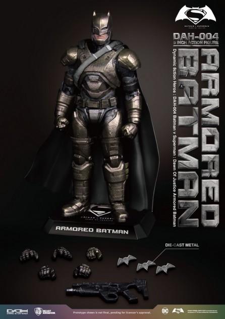 Beast Kingdom DAH-004 Batman v Superman Dawn of Justice Armored Batman Figure