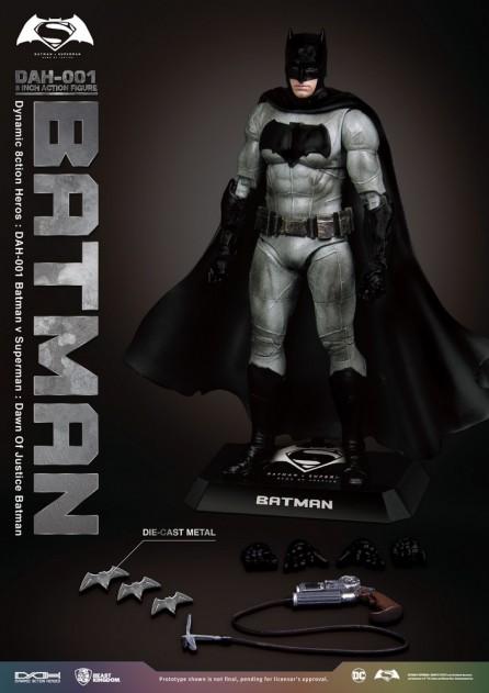 Beast Kingdom DAH-001 Batman v Superman Dawn of Justice Batman Figure