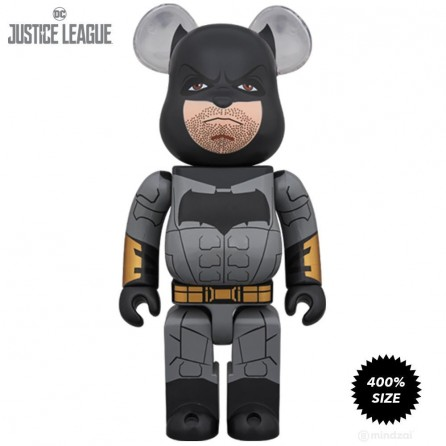 Bearbrick 400% Justice League Batman Figure