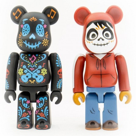 Bearbrick 100% Coco and Miguel 2-Pack Figure