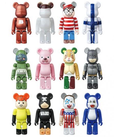 Medicom Toy Bearbrick Sealed Box of 24pcs: Series 35