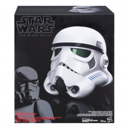 Hasbro Star Wars Black Series Imperial Stormtrooper Electronic Voice Changer Helmet