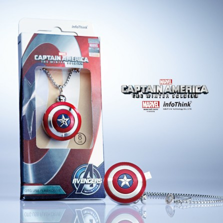 Captain America 2 Shield OTG + USB 16GB