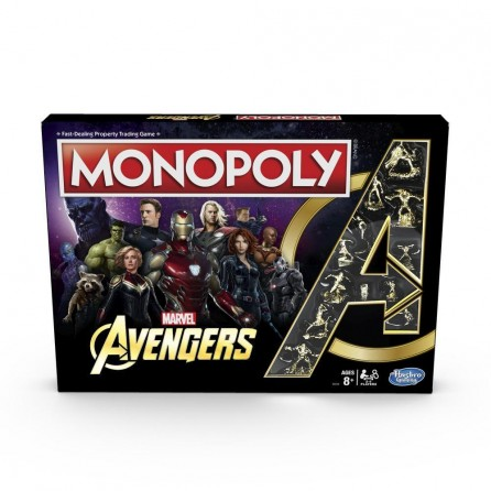 Hasbro Monopoly: Marvel Avengers Edition Board Game