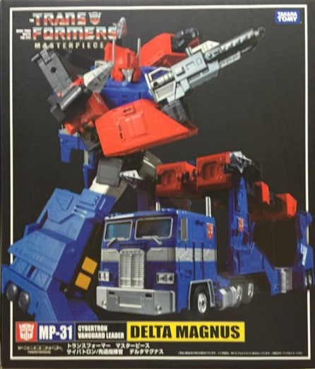 Takaratomy Transformers Masterpiece MP-31 Delta Magnus (Diaclone)
