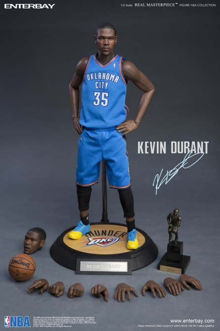 Enterbay 1 6th Scale Nba Collection Kevin Durant Action