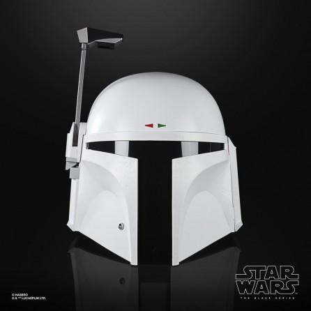 Hasbro Star Wars Black Series Prototype White Boba Fett Helmet