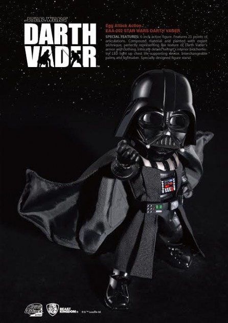 Kidslogic Egg Attack Action: EAA-002 Star Wars EPV Darth Vader