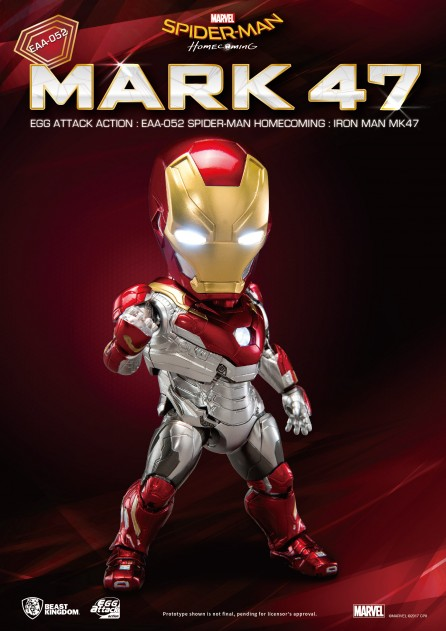 Egg Attack Action EAA-052 Spider-Man: Homecoming Iron Man Mark 47