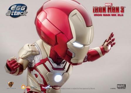 Kidslogic Egg Attack EA-005 Iron Man 3 Mark 42