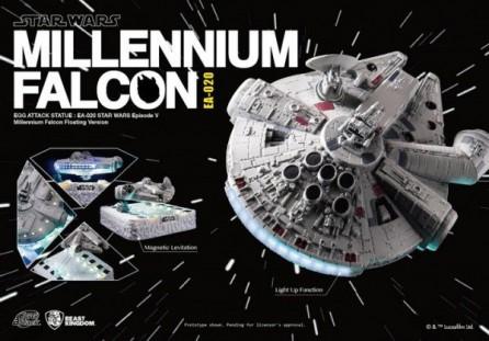 Kidslogic Egg Attack EA-020 Star Wars Millennium Falcon Magnetic Floating Version