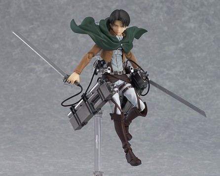 Figma #213 Attack on Titan Levi Figure