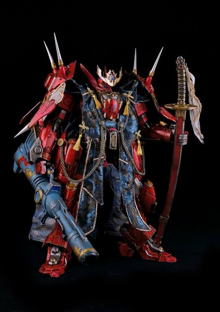 ThreeZero x Bandai 1/12 Scale Full Metal Ghost Captain Form Figure