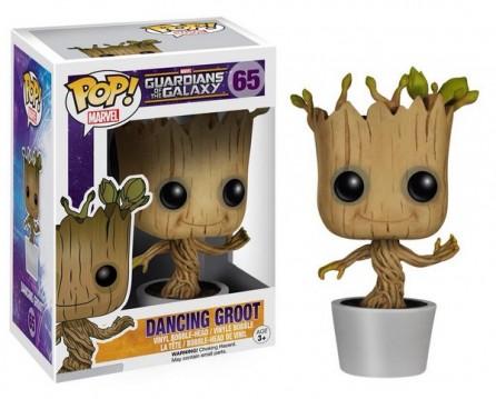 Funko POP! Guardians of the Galaxy Dancing Groot Bobble Figure