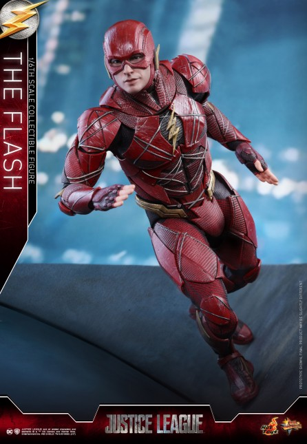 Hot Toys 1/6th Scale MMS448 Justice League The Flash Collectible Figure