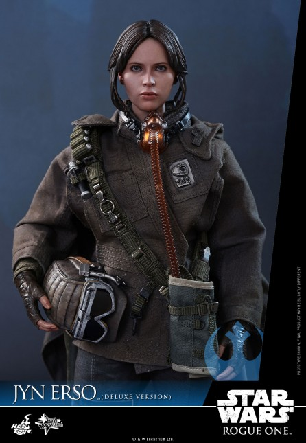 Hot Toys 1/6th Scale MMS405 Rogue One: A Star Wars Story Jyn Erso (Deluxe Version)