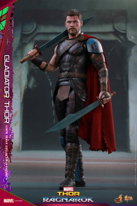 Hot Toys 1/6th Scale MMS444 Thor: Ragnarok Gladiator Thor Collectible Figure