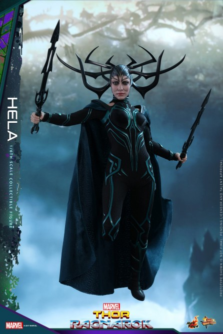 Hot Toys 1/6th Scale MMS449 Thor Ragnarok Hela Collectible Figure