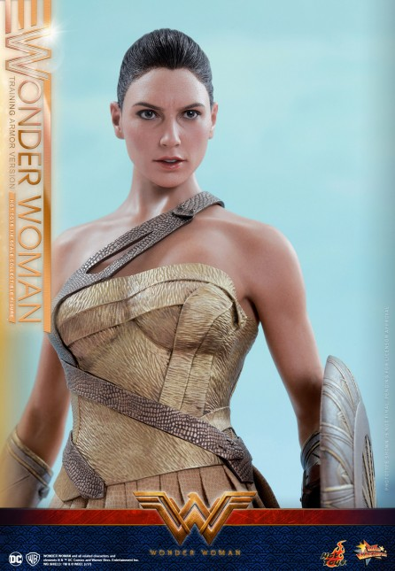 Hot Toys 1/6th Scale MMS424 Wonder Woman (Training Armor Version) Collectible Figure