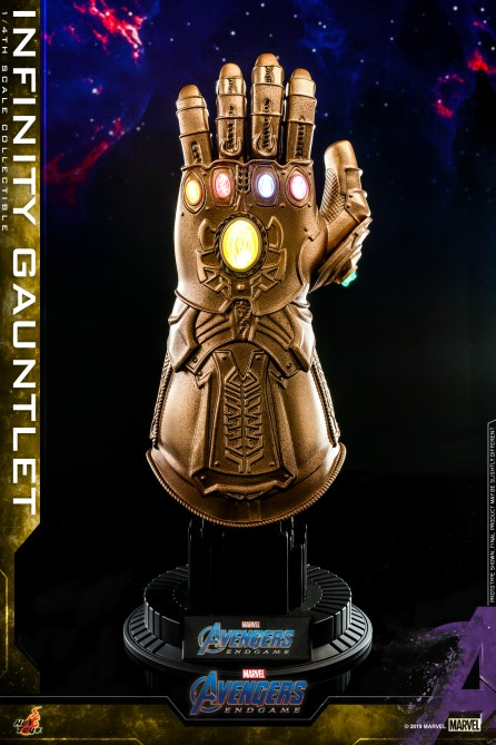 Hot Toys 1/4th Scale ACS007 Avengers: Endgame Infinity Gauntlet Collectible