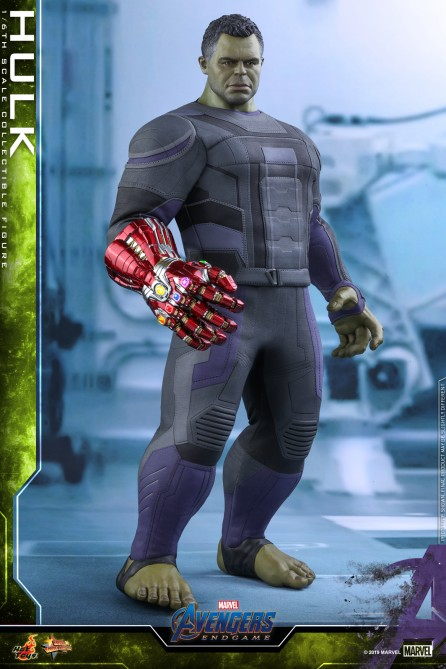 Hot Toys 1/6th Scale MMS558 Avengers: Endgame Hulk Collectible Figure