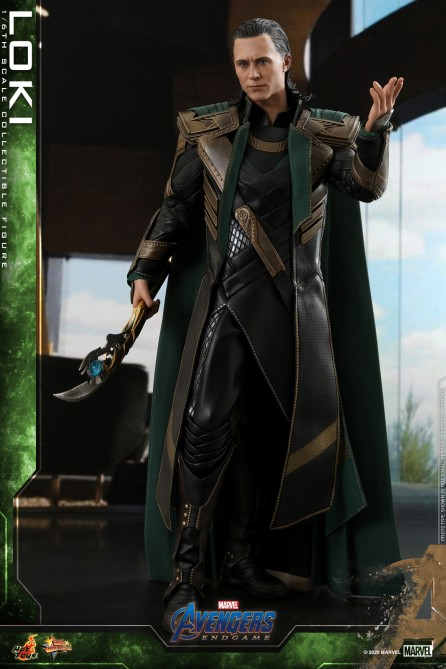 Hot Toys1/6th Scale MMS579 Avengers: Endgame Loki Collectible Figure