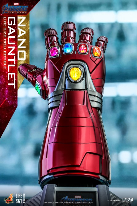 Hot Toys LMS007 Avengers: Endgame Nano Gauntlet Life-Size Collectible