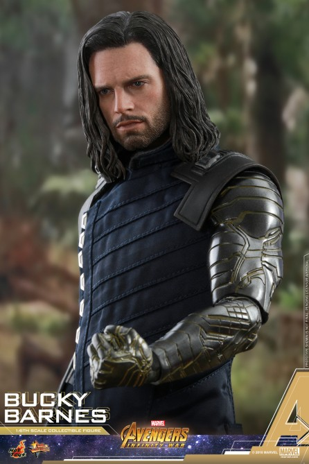 Hot Toys 1/6th Scale MMS509 Avengers: Infinity War Bucky Barnes Collectible Figure