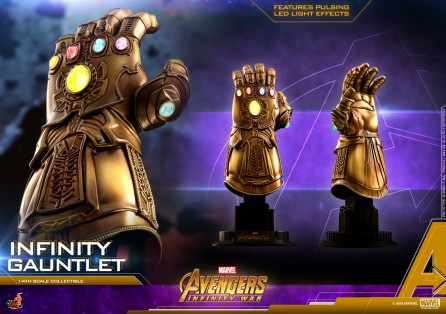 Hot Toys 1/4th Scale ACS003 Avengers: Infinity War Infinity Gauntlet Collectible