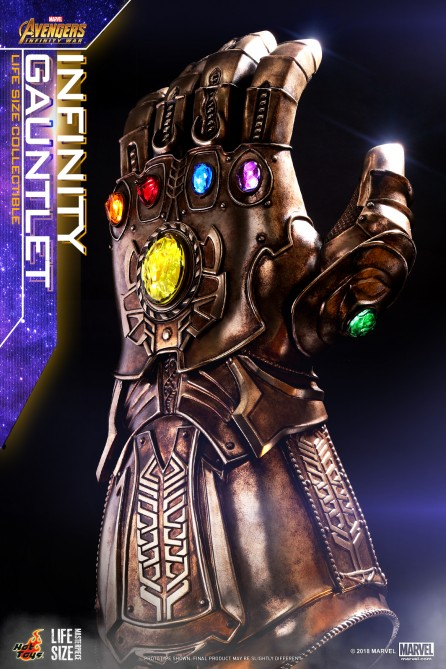 Hot Toys LMS006 Avengers: Infinity War Infinity Gauntlet Life-Size Collectible