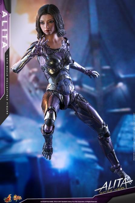 Hot Toys 1/6th Scale MMS520 Alita Battle Angel Alita Collectible Figure