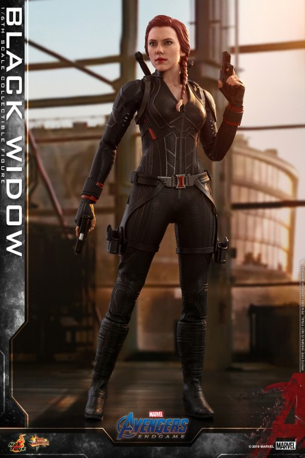Hot Toys 1/6th Scale MMS533 Avengers: Endgame Black Widow Collectible Figure