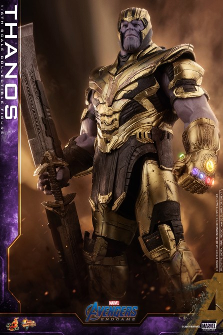 Hot Toys 1/6th Scale MMS529 Avengers: Endgame Thanos Collectible Figure