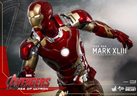 Hot Toys 1/6th Scale Avengers Age of Ultron Mark XLIII Diecast Figure