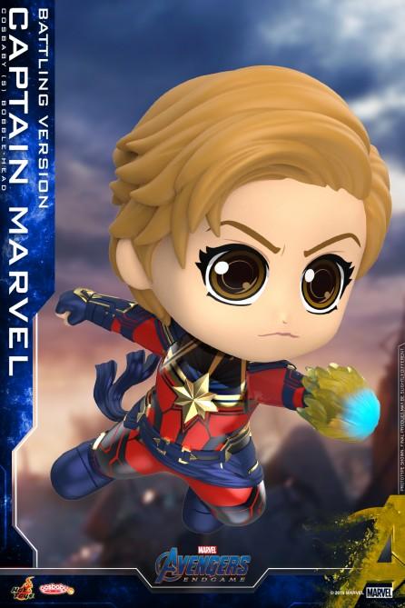 Hot Toys COSB663 Captain Marvel (Battling Version) Cosbaby (S) Bobble-Head