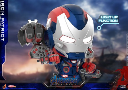 Hot Toys COSB656 Iron Patriot Cosbaby (S) Bobble-Head